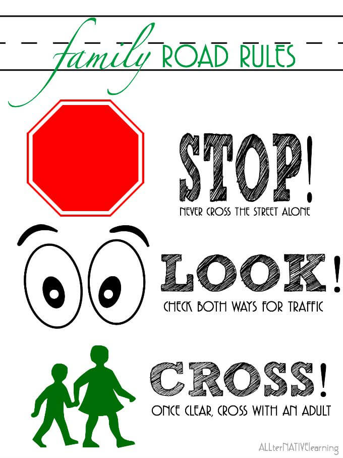 Teaching Road Safety to Toddlers  Preschoolers