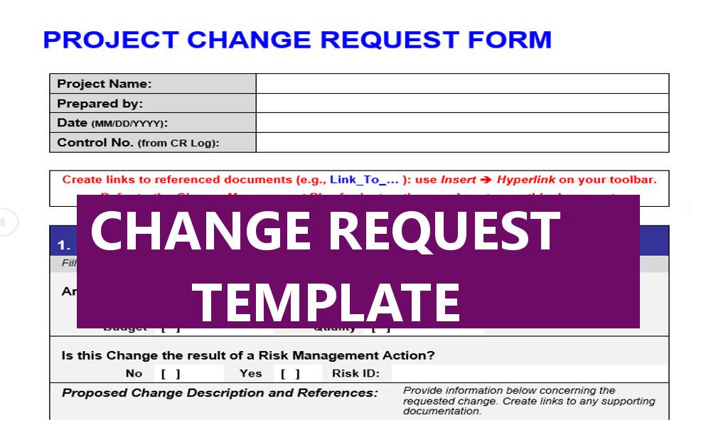 Change Request Form - Karaleise