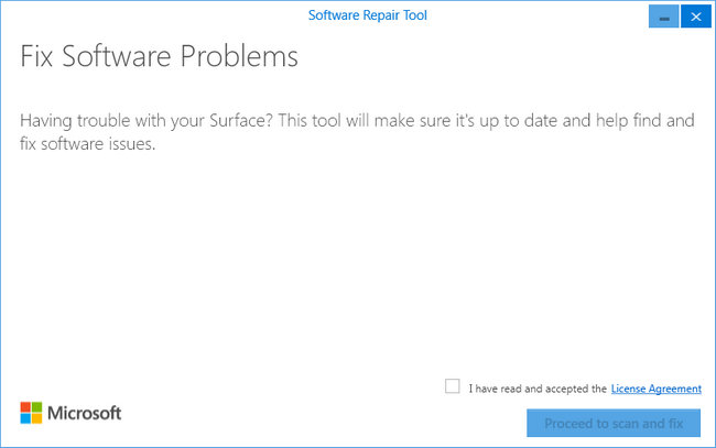 Microsoft Software Repair Tool
