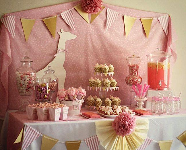 Baby Shower Party Decoration Ideas Elitflat