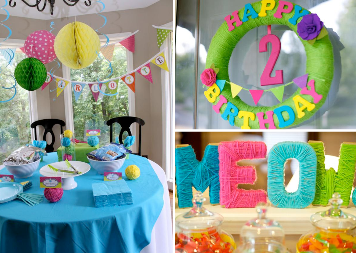 Kara39s Party Ideas Cat Kitty Themed 2nd Birthday Party