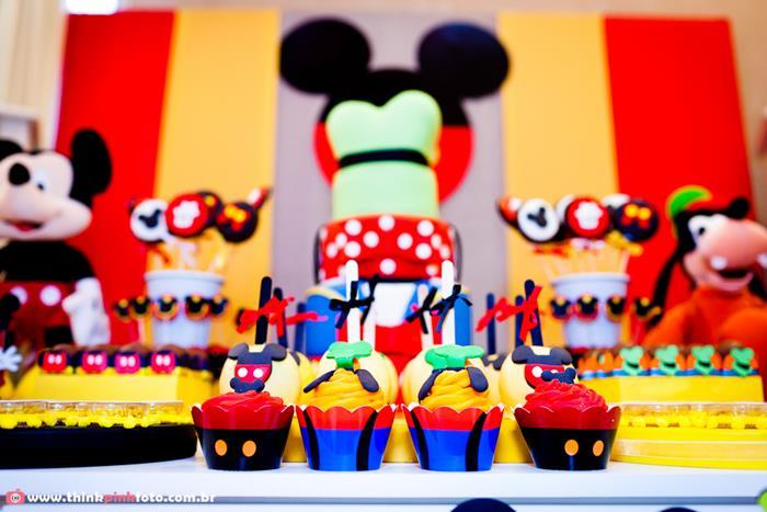 Kara\u0027s Party Ideas Mickey Mouse Birthday Party Planning Ideas - mickey mouse boy birthday party ideas