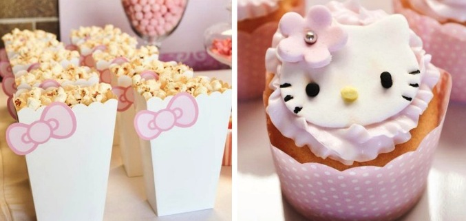 Kara39s Party Ideas Pastel Pink Hello Kitty Party Ideas