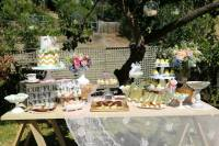 Kara's Party Ideas Vintage Rustic Garden themed birthday ...
