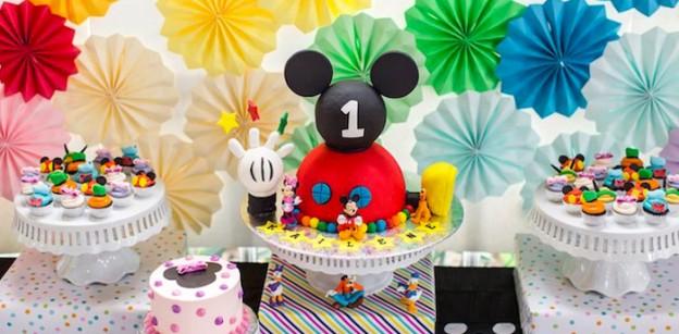 Kara\u0027s Party Ideas Mickey Mouse Birthday Party Ideas Archives - mickey mouse boy birthday party ideas