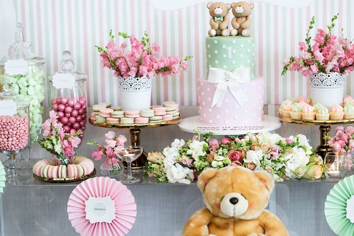Kara39s Party Ideas Teddy Bear Forever Friends Birthday