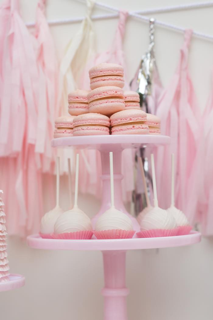 Kara39s Party Ideas Pretty In Pink 14th Birthday Party
