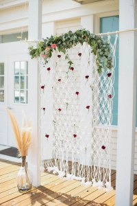 Kara's Party Ideas Outdoor Boho Baby Shower | Kara's Party ...