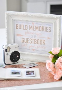 Kara's Party Ideas Instax Photo Guestbook for your Wedding ...