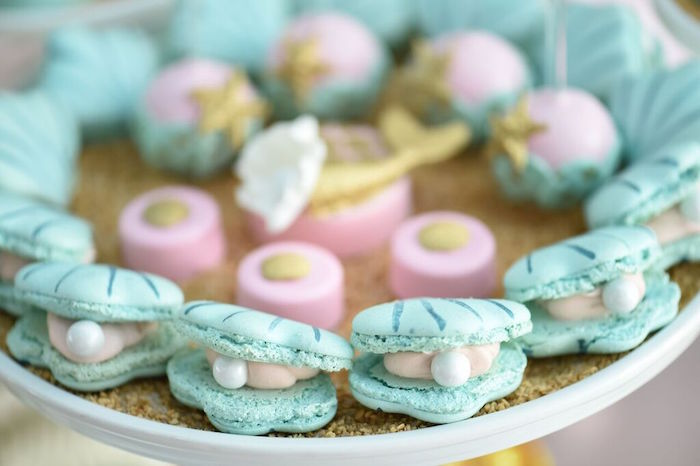 Namenskarten Hochzeit Kara's Party Ideas Mermaid Oasis Themed Birthday Party