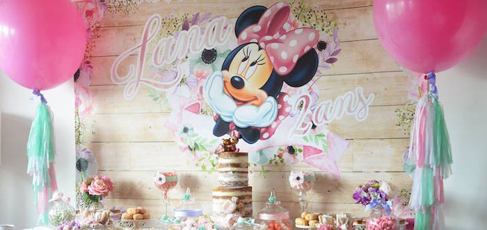 Sweet Girl And Boy Hd Wallpaper Kara S Party Ideas Boho Chic Minnie Mouse Birthday Party
