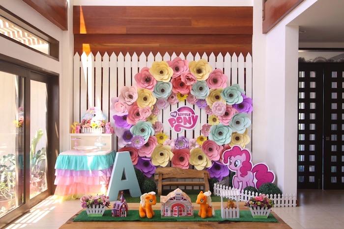 Kara\u0027s Party Ideas My Little Pony Pastel Birthday Party Kara\u0027s - birthday party design