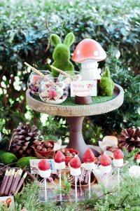 Kara's Party Ideas Woodland Forest Baby Shower | Kara's ...