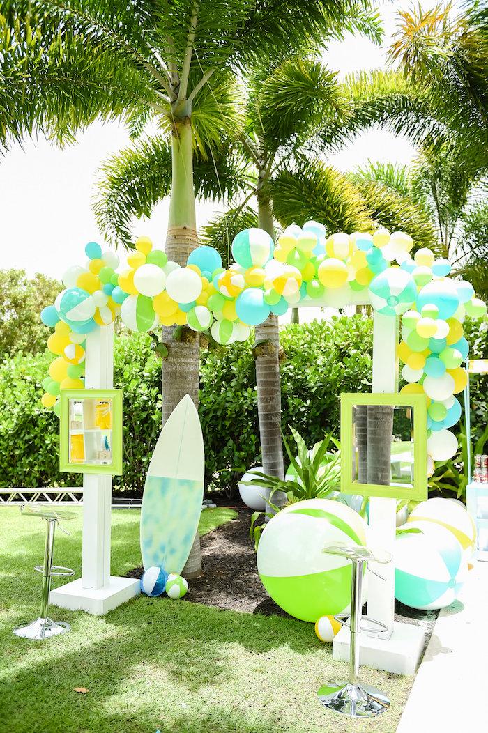 Kara39s Party Ideas Surf39s Up Beach Birthday Party Kara39s