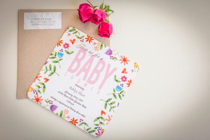 Karau0027s Party Ideas Secret Garden Baby Shower Karau0027s Party Ideas - retirement invitation