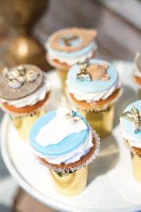 Kara's Party Ideas Blue Rustic Chic Baby Shower | Kara's ...