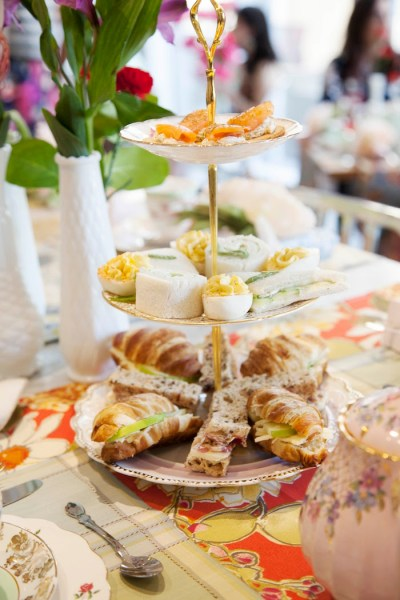 Kara's Party Ideas Garden Tea Party Bridal Shower | Kara's ...