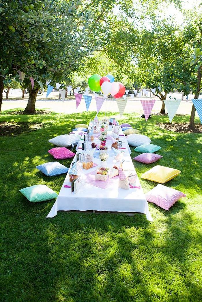 Kara's Party Ideas Sunny Teddy Bear Picnic Birthday Party