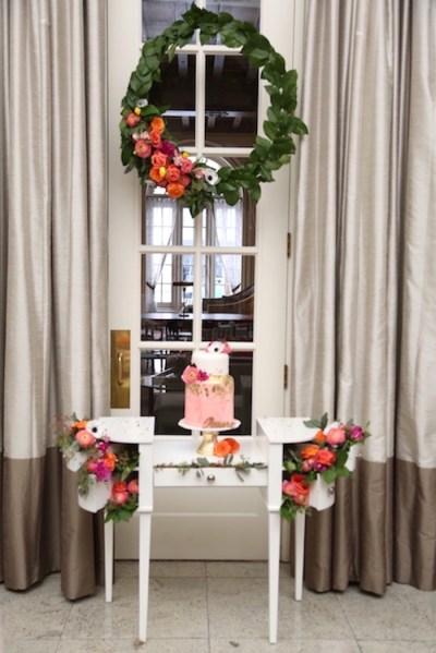 Kara's Party Ideas Elegant Floral Bridal Shower Brunch ...