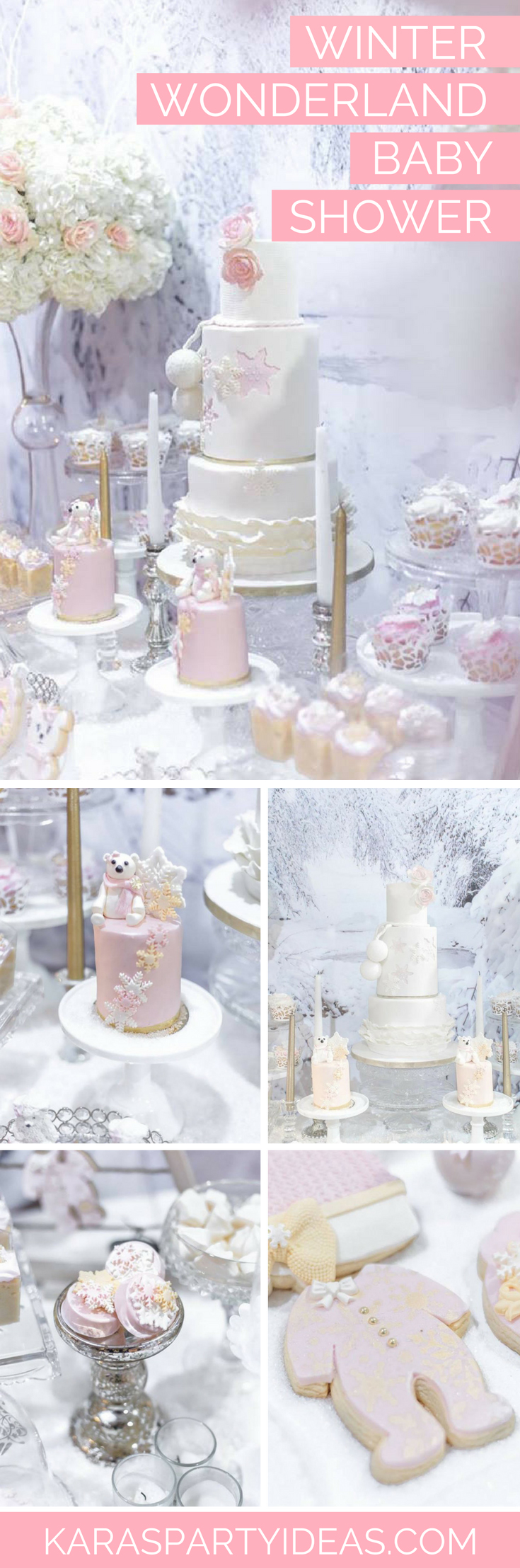 Decoration Ideas Baby Shower Girl Kara S Party Ideas Winter Wonderland Baby Shower Kara S Party Ideas