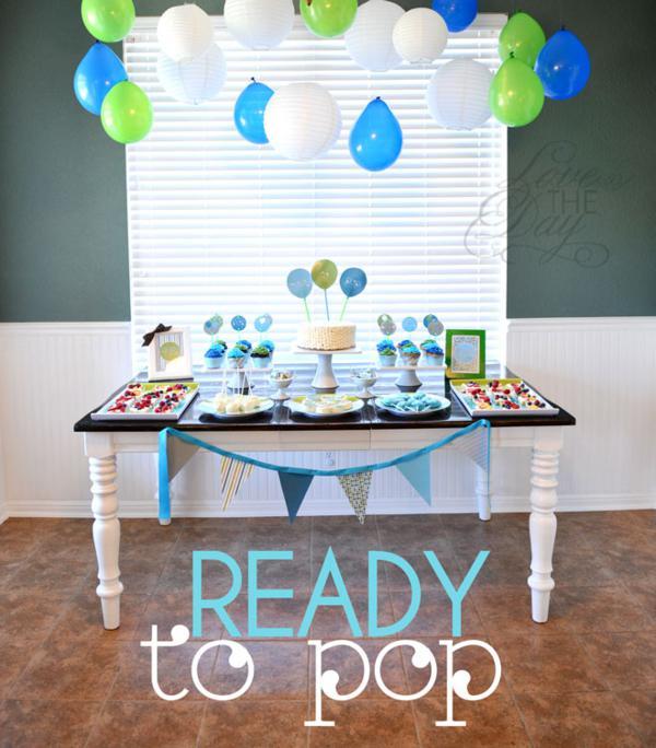 Kara\u0027s Party Ideas \ - blue and green birthday party