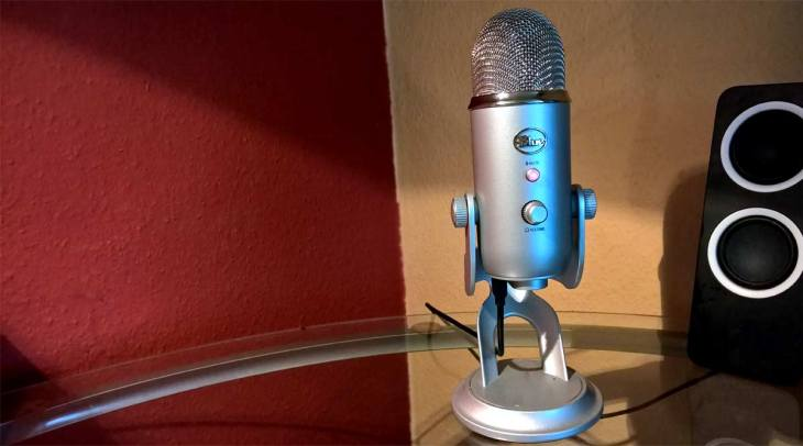 Yeti Blue Microphones Review Test