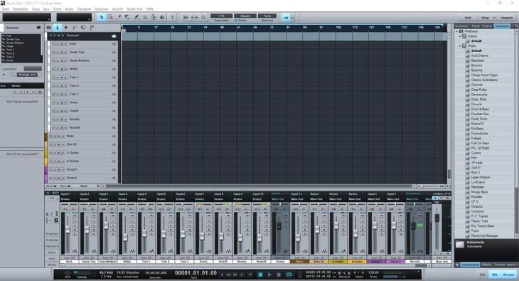 PreSonus Studio One Blue Microphones Yeti