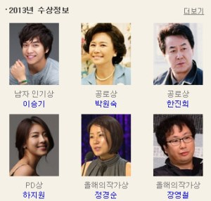MBC演技大賞
