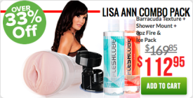 Lisa Ann Black Friday Combo Pack