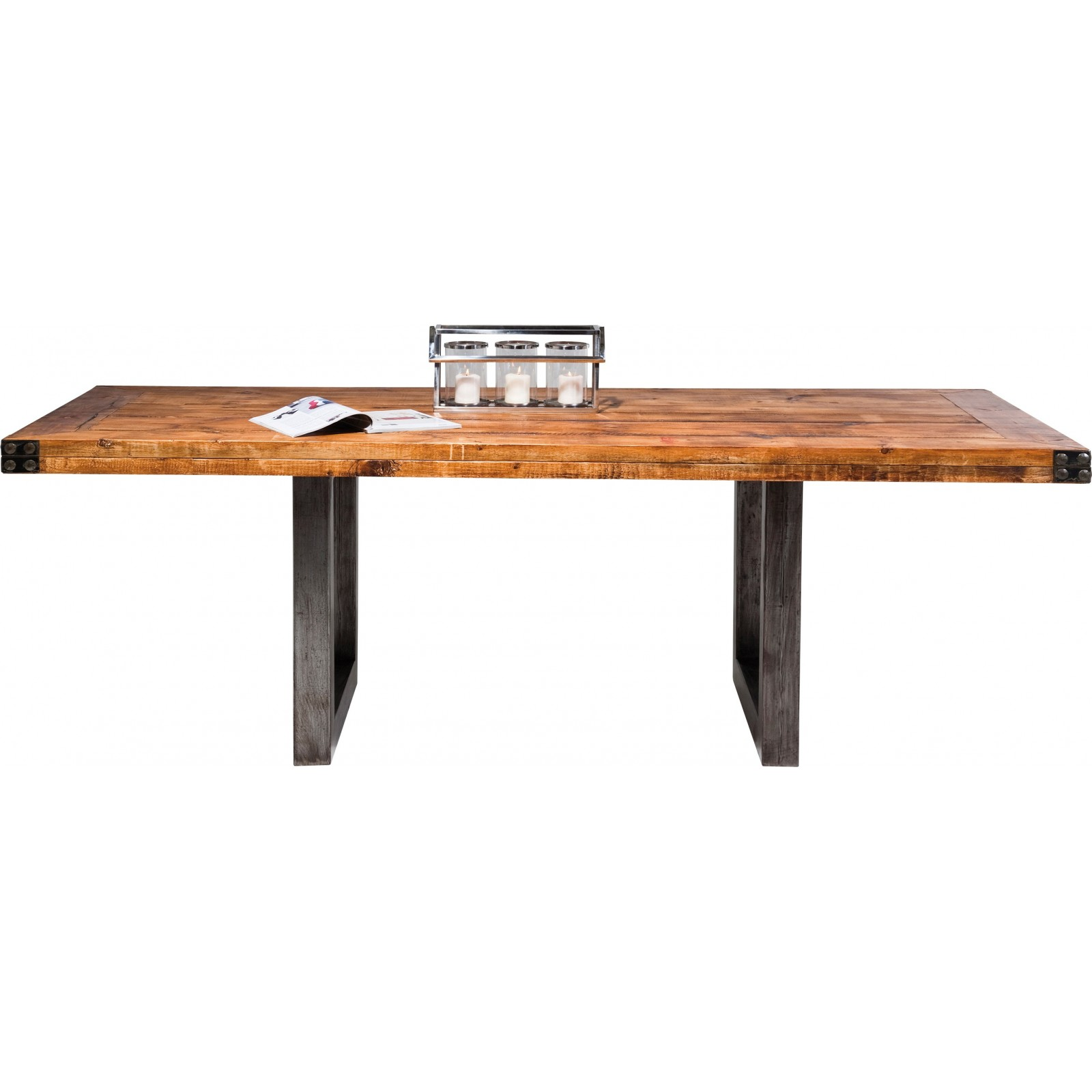 Table A Manger Industrielle Table Industrielle En Bois Off Road Kare Design