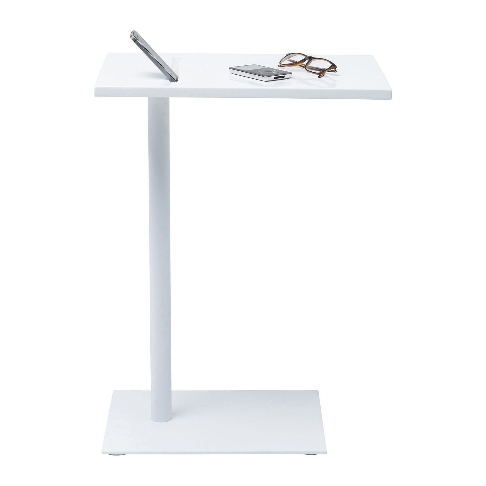Table D Appoint Blanche Table D 39appoint Moderne Blanche West Coast Kare Design