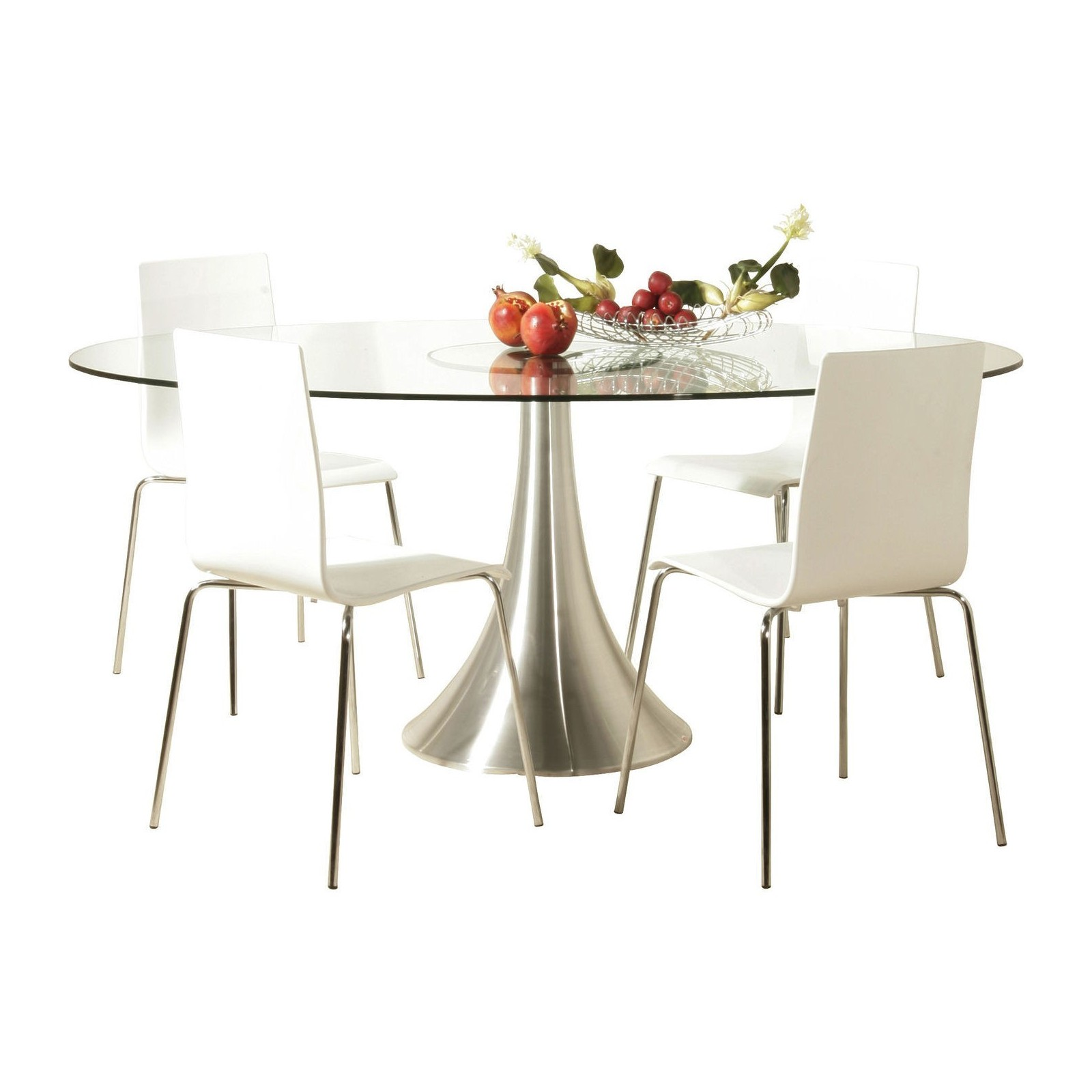 Table Verre Ovale Table Design Verre Possibilita Kare Design