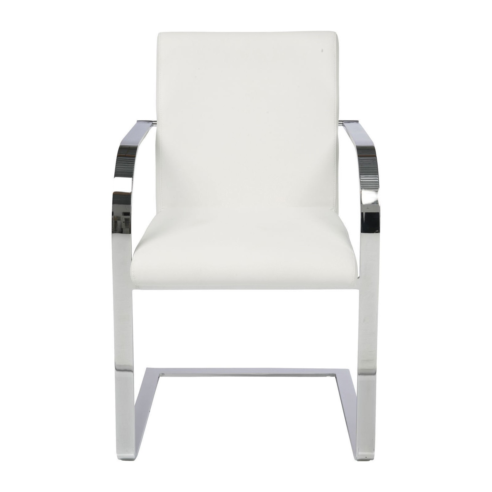 Chaises Blanches Modernes Chaise Avec Accoudoirs Moderne Blanche Canto Kare Design