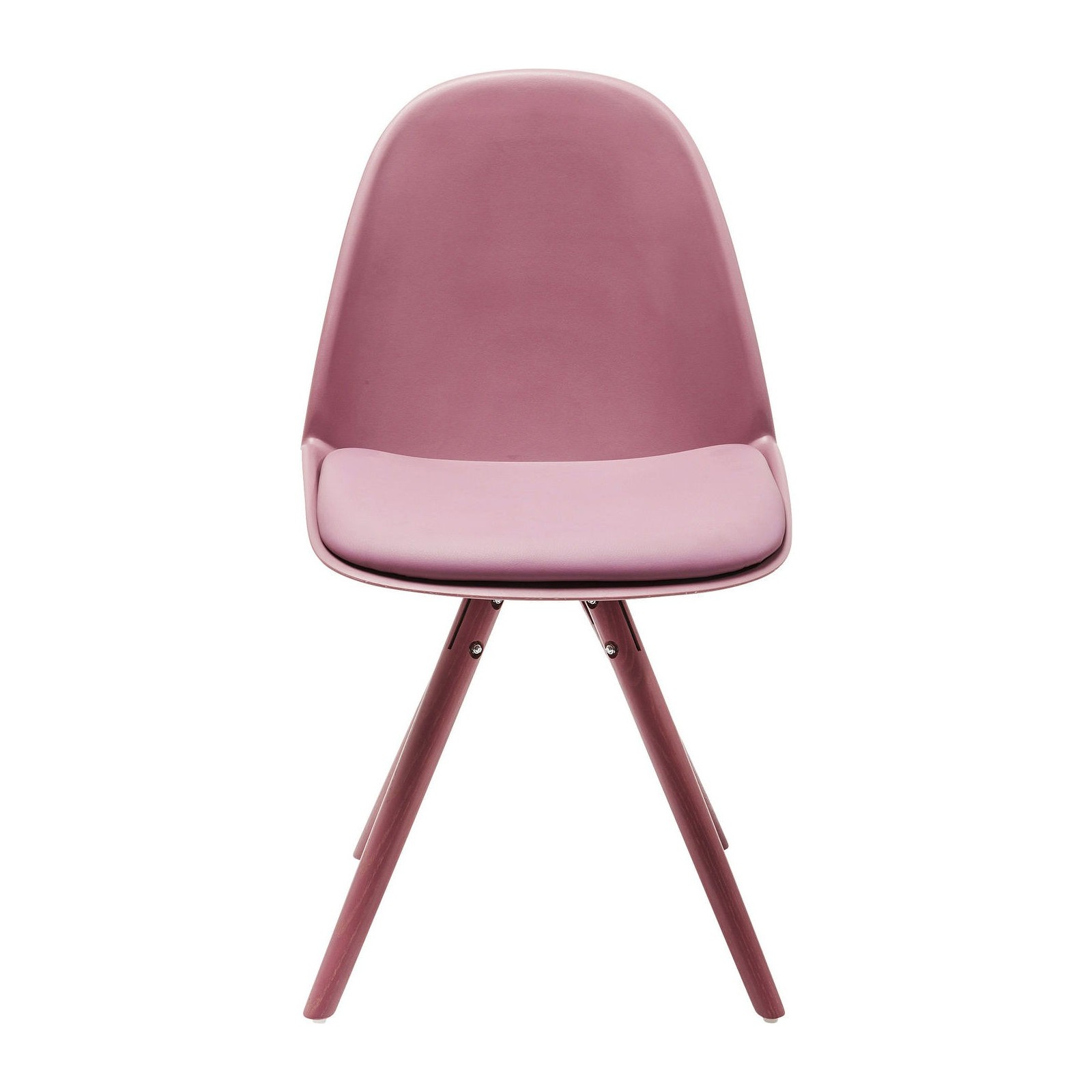 Chaise Rose Scandinave Chaise Scandinave Fuchsia - Candy World - Kare Design