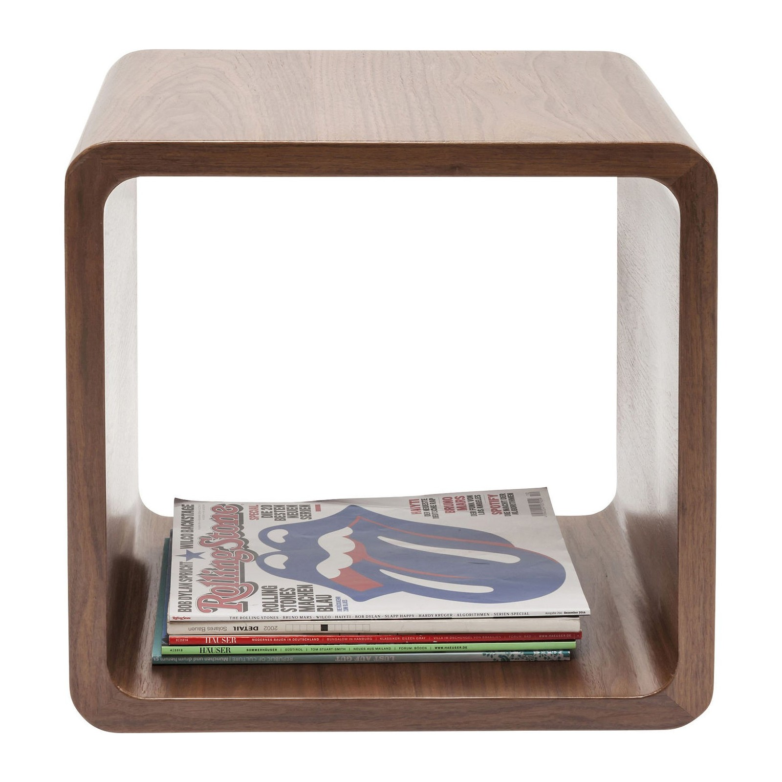 Banc Coffre Lit Cube Soft Noyer Kare Design