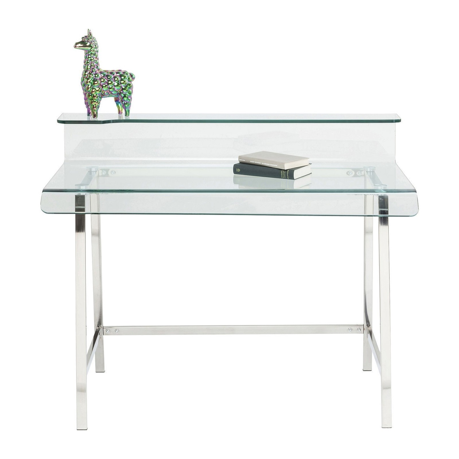 Bureau Design En Verre Bureau Design En Verre Visible Clear Kare