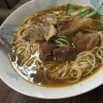 台湾 高雄 小王牛肉麺館  コンテストで入賞した人気の牛肉麺屋さん【台湾グルメ】