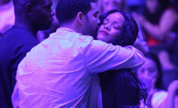 Drake Rihanna Clippers