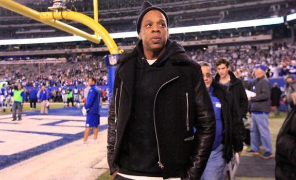 Jay Z Giants