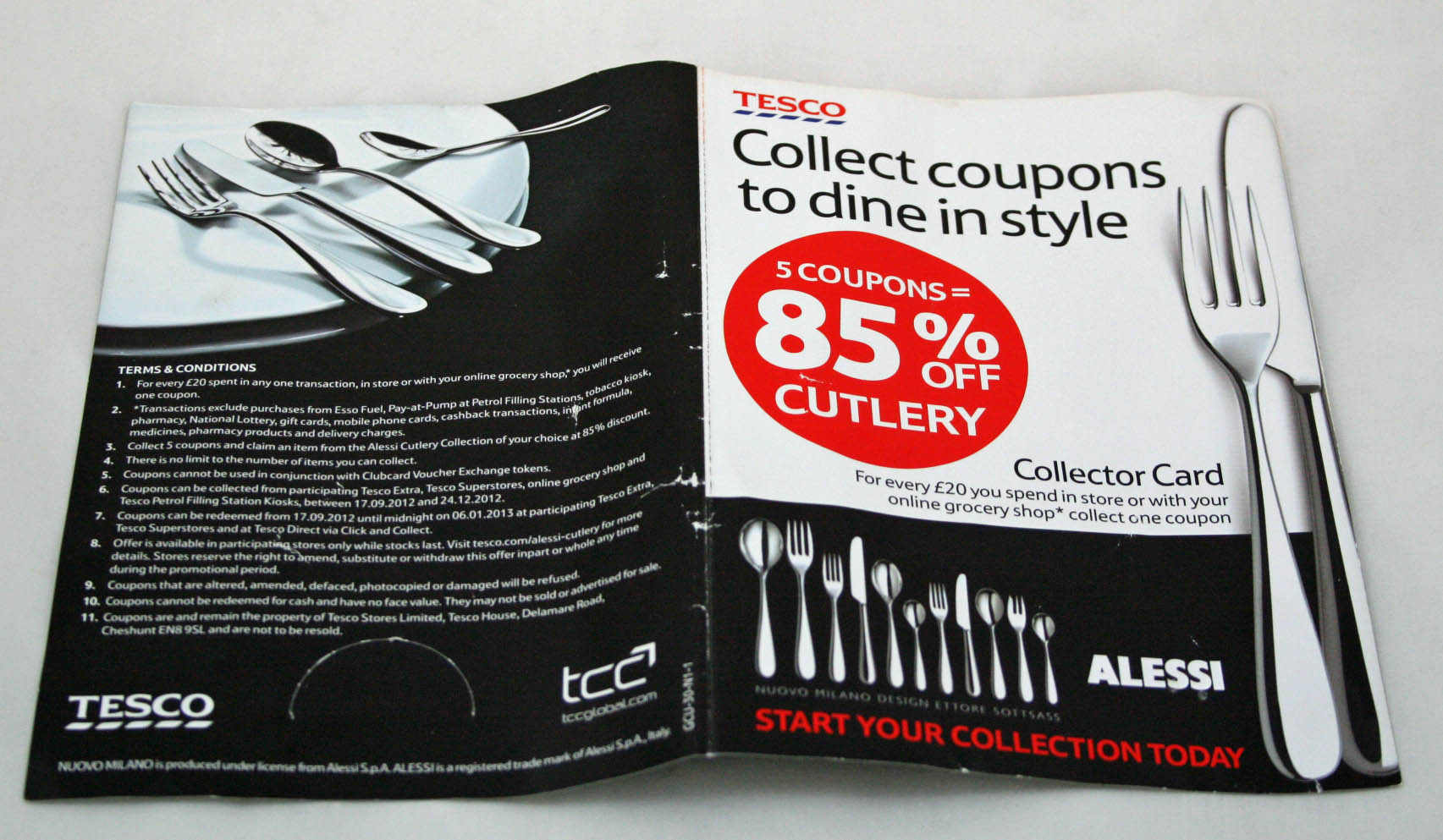 Alessi Silverware Alessi Cutlery Purchased From Tesco Corrodes Like Rust