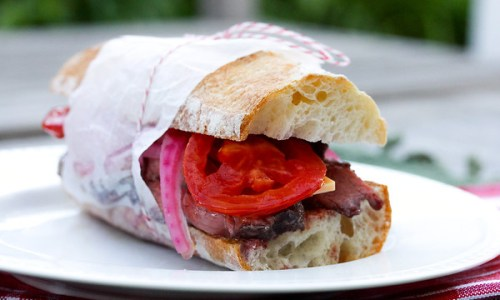 The French Baguette and the Un-Massachusetts Roast Beef Sandwich