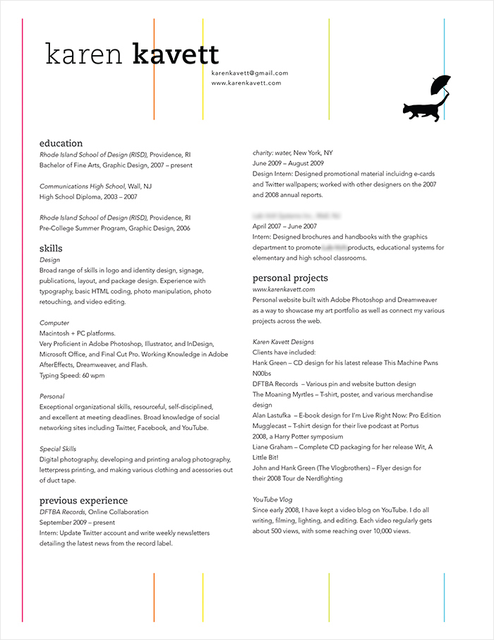 how to design a resume - Trisamoorddiner