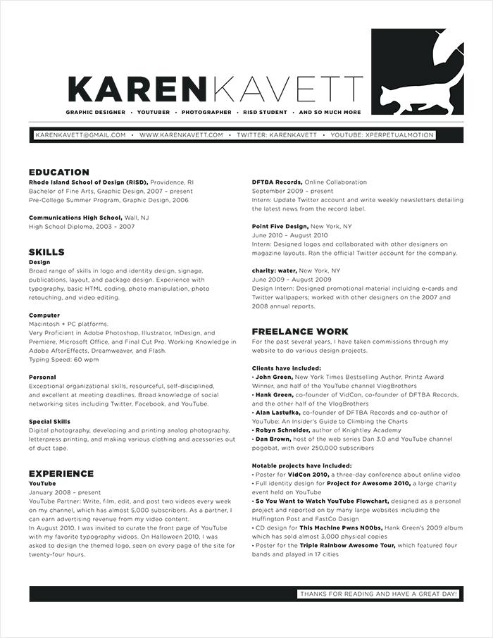 How to Design a Resume - Karen Kavett