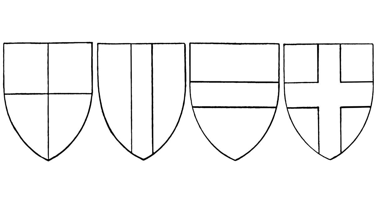 Coat of Arms Templates ~ Karen\u0027s Whimsy