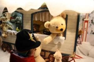 kassel christmas market steiff display