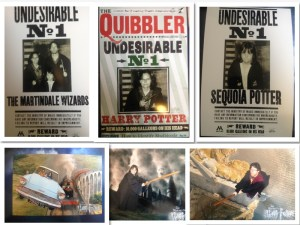 harry potter wanted poster collage