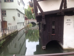 crooked hotel schiefes haus ulm