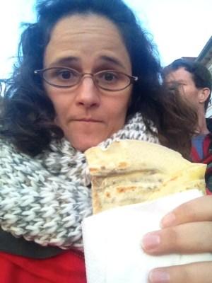 dieburg martinsmarkt 2014 eating a crepe fest