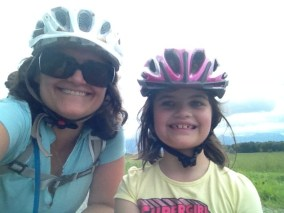 mother daughter bike helmets