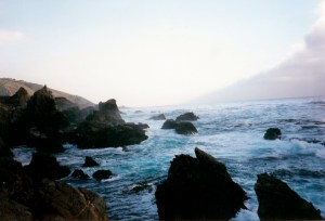 The breathtaking coastline of Big Sur